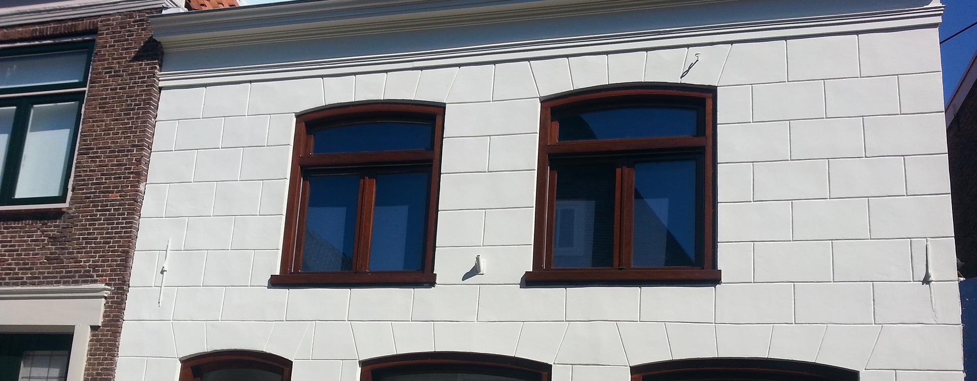kozijnen woonhuis schilderen door Schuit Schilderwerken